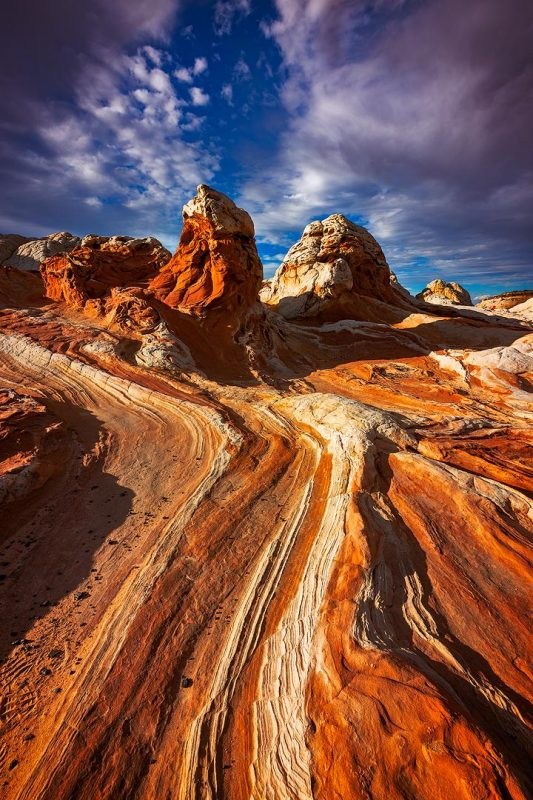 Red Rivers of Sandstone